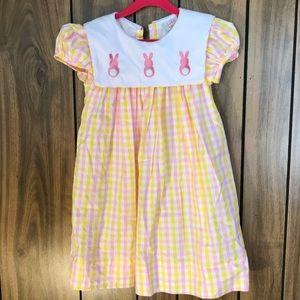 Hippity Hoppity Gingham Easter Dress
